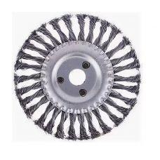 Щетка дисковая 175х22 мм плетеная сталь ЕРМАК 656-052