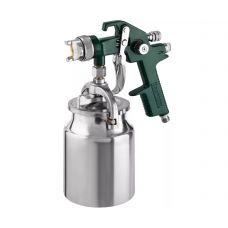 Краскораспылитель нижний бачок емкость 1 л диаметр выходного отверстия 1,4 мм KRAFTOOL 06520-1.4