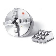 Патрон токарный 400 мм 4-х кулачковый К12 конус 11 с креплением 7100-0045 CNIC 49953