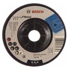 Круг абразивный зачистной 125х6х22 мм А24 BOSCH Standart вогн 2608603182