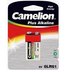 Батарейки тип КРОНА 9В 6LR61 CAMELION PLUS ALKALINE 1шт 112577