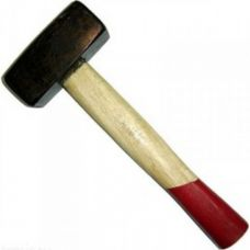 Кувалда литая с деревянной рукояткой 8 кг