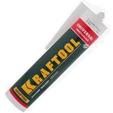 Герметик KRAFTOOL силиконовый белый металл 41253-0