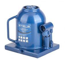 Домкрат гидравлический бутылочный грузоподъемность 10,0 тонны STELS двухштоковый высота 170-430 мм 51119