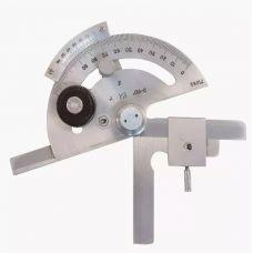 Угломер транспортир с нониусом 5УМ диапазон 0-180 градусов КРИН