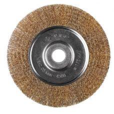 Щетка дисковая 175х22 мм витая сталь 0,3 мм ЗУБР 35187-175_z01