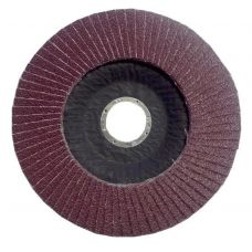 Круг лепестковый торцевой КЛТ 115х22 мм Р 40 (№40) тип 1 ЛУГА с2314