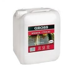 Стекло жидкое натриевое 12 кг GROSS