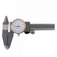 Штангенциркуль 200 ШЦК-1-200 мм класс точности 0,01 мм с глубиномером стрелочный ТМ