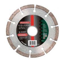 Диск алмазный 125х22,2 мм универсальный сегментный METABO 624307000 624307000