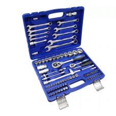 Набор инструмента  82 предметов 1/2, 1/4 дюйма размер 4-32 мм ключи KINGTUL KT82