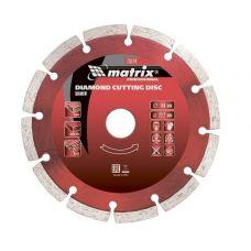 Диск алмазный 125х22,2 мм сухая резка для УШМ MATRIX