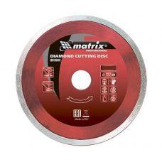 Диск алмазный 125х22,2 мм влажная резка для УШМ MATRIX