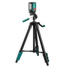 Уровень лазерный построитель плоскостей со штативом 20 м чехол KRAFTOOL 34700-3