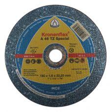 Круг абразивный отрезной 180х1,6х22 мм А46 EXTRA KRONENFLEX по металлу 221161