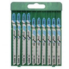 Пилки набор по металлу для электрического лобзика 2609256745 BOSCH SET T-XB.DIY упаковка 10 шт 2609256745