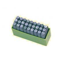 Набор клейм буквенных №12 сталь латынь 37162