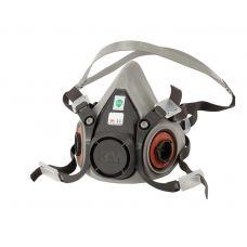 Полумаска техническая 3М 6200 под сменные патроны с байонетным креплением