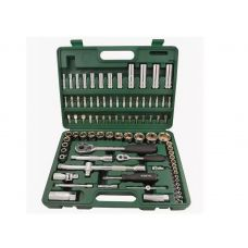 Набор инструмента  86 предметов 1/2, 1/4 размер 3,5-32 мм DR для авто SATA 09013