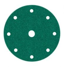 Круг из абразивного волокна 150 мм Р 80 9 отверстий упаковка 1 шт FILM SUNMIGHT 51306
