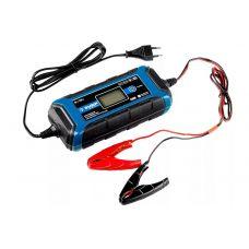 Зарядное устройство ЗУБР 59300 6В/12В,4А,автомат IP65, AGM, GEL, WET Пофессионал 59300