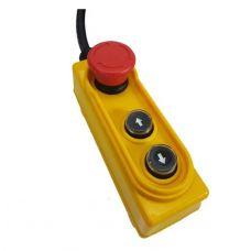 Пульт управления для тали РА 500/1000 количество кнопок 2 шт грузоподъемность 500/1000 кг TOR 1191013 - модификация 2