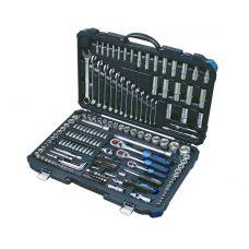 Набор инструмента 218 предметов 1/2, 3/8, 1/4 дюйма 6 граней FORSAGE 42182-5 FORSAGE