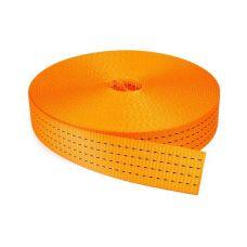 Лента текстильная ширина 50 мм грузоподъемность 7000 кг 6:1 для стяжных ремней и строп 12521