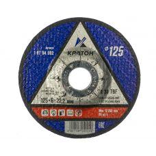 Круг абразивный зачистной 125х6х22 мм А30 TBF КРАТОН 1 07 04 002