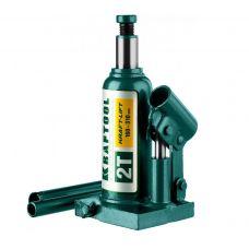 Домкрат гидравлический бутылочный грузоподъемность 2,0 тонны высота 160-310 мм KRAFTOOL 43462-2