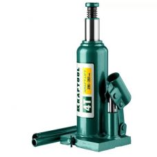 Домкрат гидравлический бутылочный грузоподъемность 4,0 тонны высота 206-393 мм KRAFTOOL 43462-4