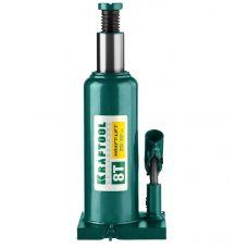 Домкрат гидравлический бутылочный грузоподъемность 8,0 тонн высота 228-447 мм KRAFTOOL 43462-8