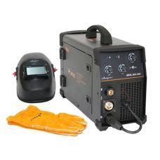 Сварочный инвертор MIG 200 REAL N24002N Black маска+краги СВАРОГ