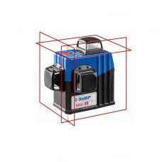 Уровень лазерный самовыравнивающийся ЗУБР Профи Крест-3D угол 360 градусов дальность 20 м 34908