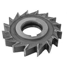 Фреза дисковая диаметр 100х18х32 мм 3-х сторонняя z=16 сталь Р18 с разнонаправленными зубьями 48717