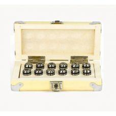 Набор цанг CNIC ER32 размер 6, 8, 10, 12, 16, 20 мм упаковка 6 шт DIN6499 GRIFF b225524