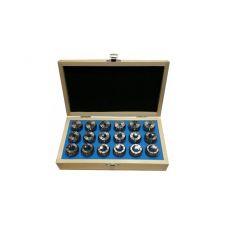 Набор цанг CNIC ER32 18шт 3-20 DIN6499 GRIFF b225530