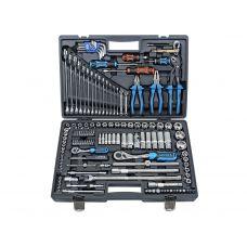 Набор инструмента 143 предметов 1/2, 1/4 дюйма размер 4-32 мм 6 граней LICOTA ALK-8009F ALK-8009F