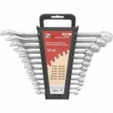 Ключи КГКП комплект 12 шт размер 6-22 мм усиленные в пластиковом держателе КФ (1)