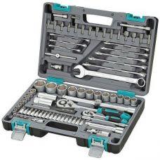 Набор инструмента  82 предметов 1/2, 1/4 дюйма размер 4-32 мм STELS 14105