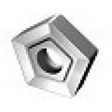 Пластина пятигранная диаметр 6 мм сталь Т15К6 со стружколомом Н10 13540/49004/23055