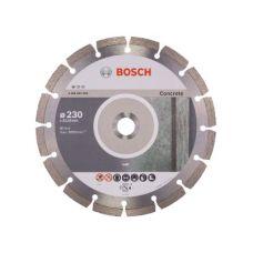 Диск алмазный 230х22,2 мм сухая резка для УШМ BOSCH БОШ