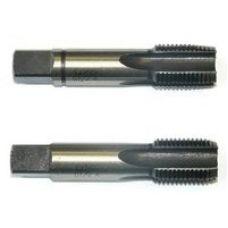 Метчик G1 дюйма трубный цилиндрический м/р комплект из 2-х штук