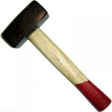 Кувалда литая с деревянной рукояткой 6 кг