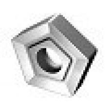 Пластина пятигранная диаметр 6 мм сталь Т15К6 со стружколомом YT15 54369