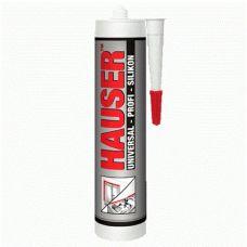 Герметик HAUSER силиконовый прозрачный емкость 0,26 литра