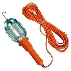 Лампа переносная РОССИЯ длина 10 м 220 В выключатель ПРС зима