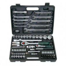 Набор инструмента  82 предметов 1/2, 1/4 дюйма размер 4-32 мм ключи FORCE 4821-5