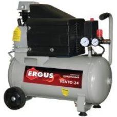 Компрессор объем  24 л производительность 280 л/мин давдение 8 бар мощность 2,5 л/с марка ERGUS VENTO-24 770-247