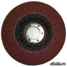 Круг лепестковый торцевой КЛТ 125х22 Р 80 (№20) тип 1 Луга